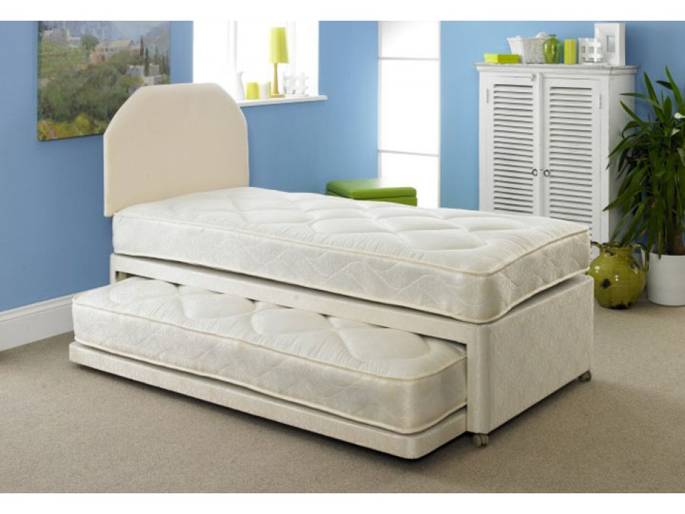 3 in 1 versatile guest divan bed for Divan bed with guest bed