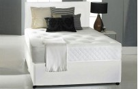 Promo Coil Sprung Double or Kingsize Divan Memory Foam With Headboard