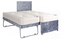 3 in 1 Guest Bed Crushed Velvet