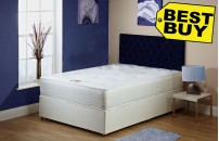 Exclusive Divan Bed 1A With 25cm Orthopaedic Mattress Free Delivery