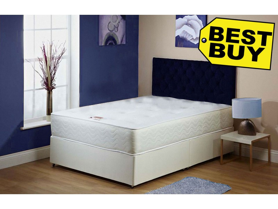 Exclusive divan bed 1a with 25cm orthopaedic mattress free for Exclusive beds