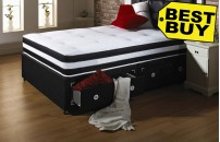 Special Double Size Divan and Memory Foam Mattress Fast Delivery