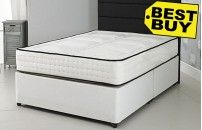 Value 1500 Pocket Sprung Divan Bed and Memory Foam Mattress Set