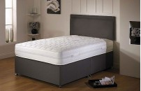 Offer Air-Flow Divan Bed and Memory Foam Mattress Set with Matching Headboard Option