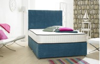 Style Divan Bed Ocean Teal 1500 Pocket Spring Memory Foam Mattress