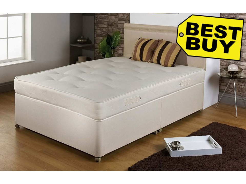 1000 pocket divan bed and mattress limited offer for Divan bed offers