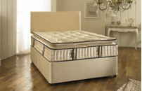 2000 Pocket Sprung 30cm Pillow Top Divan Bed and  Mattress Set