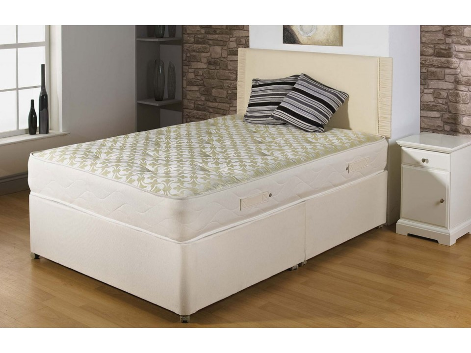 Backcare Firm Orthopaedic Divan Bed And Mattress Set