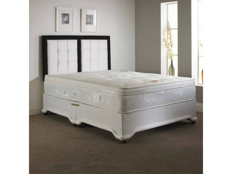 Exclusive Double Divan 12 Pocket Sprung Memory Foam Mattress