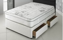 **LIMITED STOCK OFFER Double Size 1500 Pocket Divan and Pillow Top Memory Foam Mattress