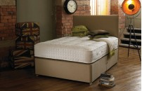 Natural Collection 3000 Pocket Luxury Firm Divan Bed and Mattress Set