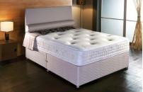 *PREMIER* 1000 Pocket Divan Bed and Memory Fibre Mattress Set