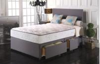 *PREMIER* 1500 Pocket Divan Bed and COOL Memory Foam Mattress Set