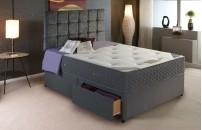*PREMIER* 1500 Pocket Divan Bed and Encapsulated COOL Memory Foam Mattress Set