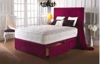 *PREMIER* 1500 Pocket Divan Bed and Memory Fibre Mattress Set