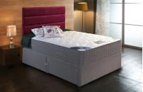 *PREMIER* 2000 Pocket Divan Bed and COOL Memory Foam Mattress Set