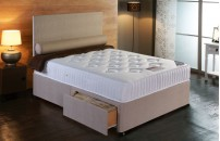 *PREMIER* Orthopaedic Divan Bed and COOL Memory Foam Mattress Set