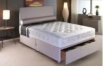 *PREMIER* Orthopaedic Divan Bed and Memory Fibre Mattress Set