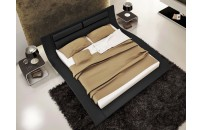 Vitesse Faux Leather Bed