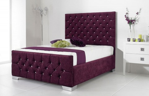 Acapella Fabric Designer Bed