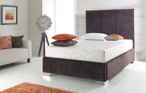 Amaretto Fabric Designer Bed