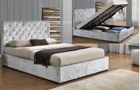 Charterhouse Crushed Velvet Storage Bed