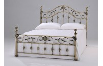 Elgin Antique Brass Bed Frame