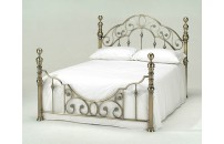 Fino Antique Brass Bed Frame