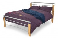 Kendall Wood-Metal Bedframe
