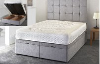 *NEW* Okehampton Chenille Ottoman Storage Bed
