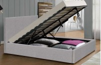 **NEW* Rochester Fabric Ottoman Storage Bed