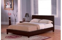 Verdelho Faux Leather Bed
