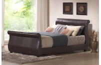 Waltham Faux Leather Designer Bed