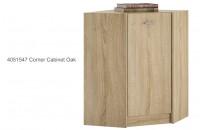 4051547 Corner Cabinet Oak