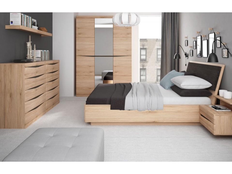 Knightsbridge Bedroom Grained Oak Finish