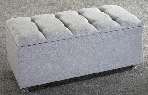 *NEW* Ottoman Storage Blanket Box Linen