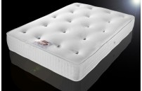 *EXPRESS FREE DELIVERY Quilted Extra Deep Sprung Memory Foam Mattress