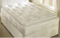 1500 Pocket Spring 12 inch Luxury Organic Pillow Top Mattress