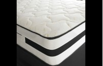 Airflow Coil Sprung 25cm Quilted Mattress with Memory Foam