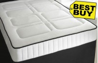 1500 Pocket Sprung Quilted 25cm Mattress with Memory Foam