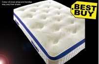**GREAT VALUE* Pillow Top Tufted Aloe Vera Mattress with Memory Foam