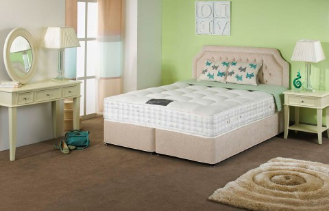 Ultimate 4000 Pocket 30cm Sprung Mattress with Luxury Organic Fillings