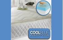 *NEXT DAY 1500 Pocket Spring Cool Blue Memory Foam Mattress