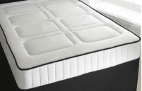 Super King Pocket Sprung 1500 25cm Memory Foam Mattress 2J Free Delivery