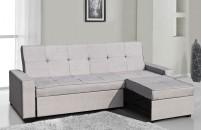 Serra L Shaped Sofa Bed