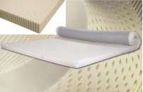 Talalay Latex Mattress Topper With Cover Single Size Free Delivery