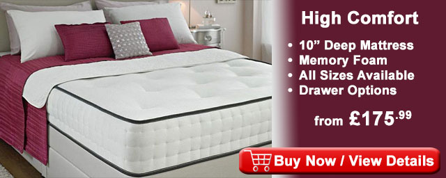Divan beds cheap beds factory direct fast free delivery for Divan bed quick delivery