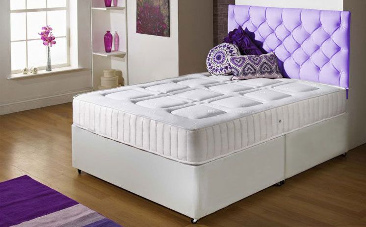 Special Offer Memory Foam Divan Bed