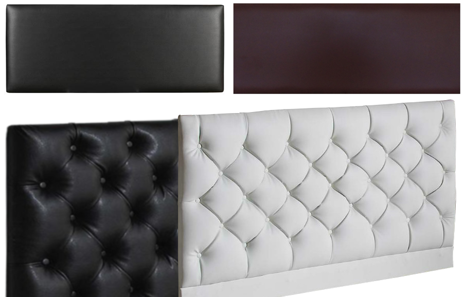 faux leather divan orthopaedic mattress  headboard, Headboard designs