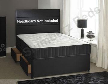 Divan Bed and Memory Foam Mattress 2A
